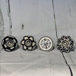 NWOT Assorted Ceramic Cabinet Knobs